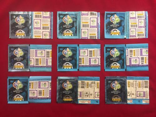 Panini Mundial Alemania 2006 Colección 9 Sobres Diferentes
