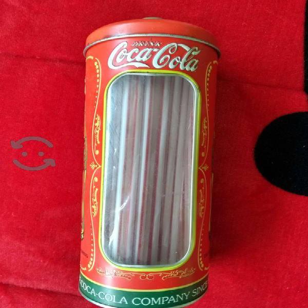 Popotero de coca cola