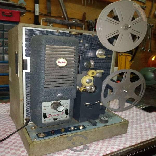 Proyectores de 8 mm Kodak y Siemens