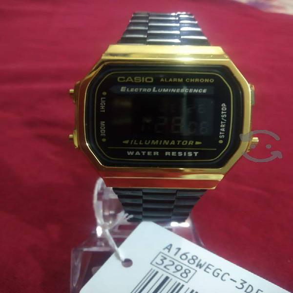 Reloj Casio vintage modelo A168 w