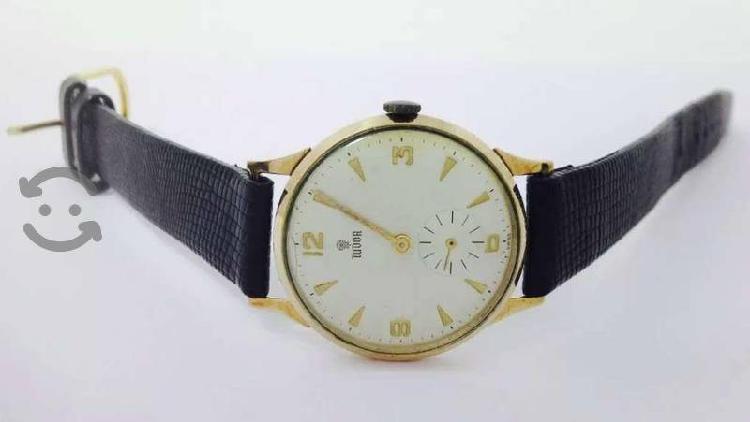 Reloj de oro de 14k Marca Tudor / para caballero
