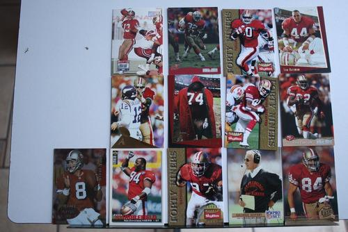 San Francisco 49ers, 13 Tarjetas Coleccionables, Niners Card