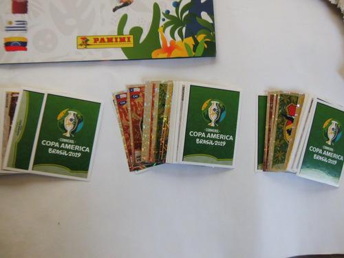 Set Completo De Hologramas Copa America Brasil 2019