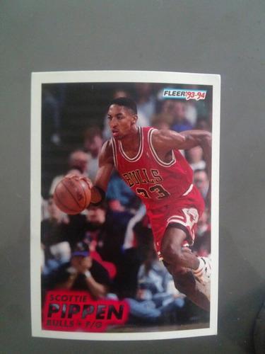 Tarjeta Coleccionable Scottie Pippen Nba Chicago Bulls