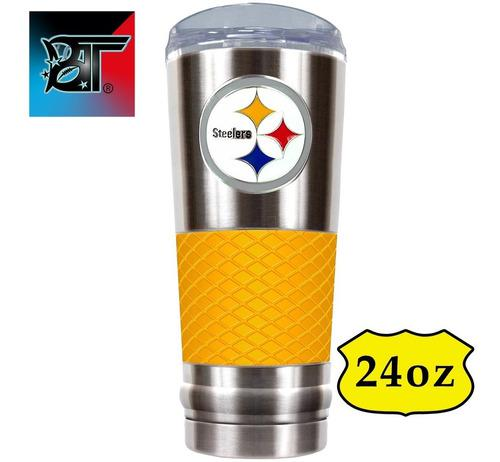Termo Pittsburgh Steelers Acero Inoxidable 24oz Nfl