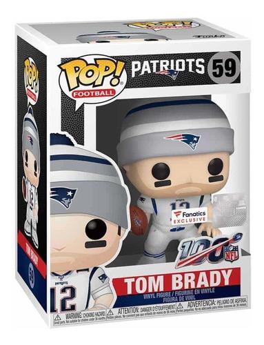 Tom Brady Funko Pop Patriots Edició Fanatics Envió