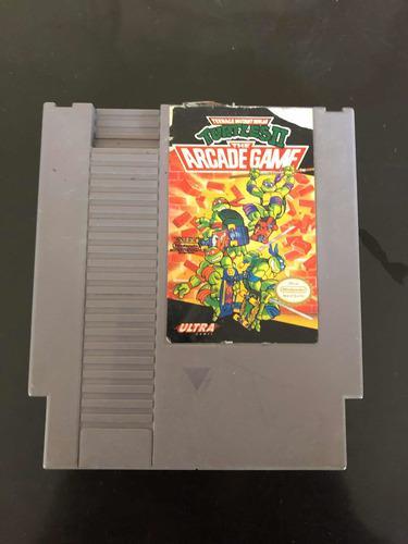 Tortugas Ninja 2 Nintendo Nes + 1 Juego Para Game Boy Gratis