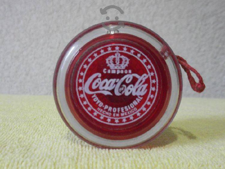 Yoyo Coca Cola Campeon de coleccion de los 70