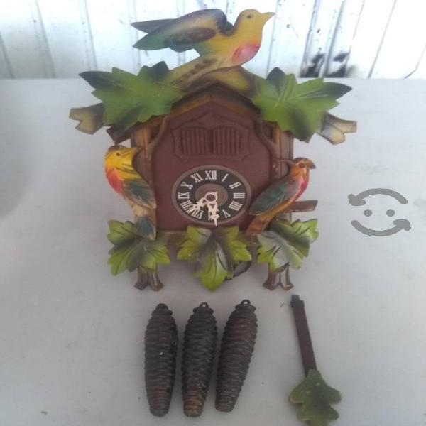 antiguo reloj alemán kuku musical