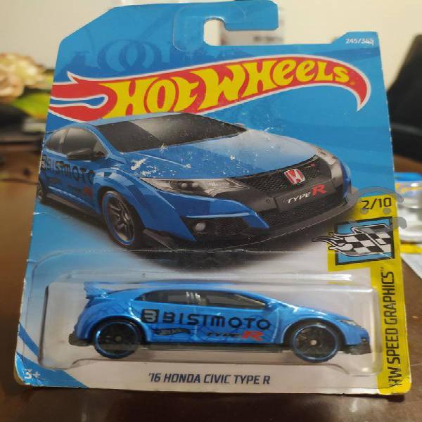 hot wheels 16 honda civic type r hw speed graphics