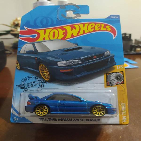 hot wheels 98 subaru impreza 22b sti-version