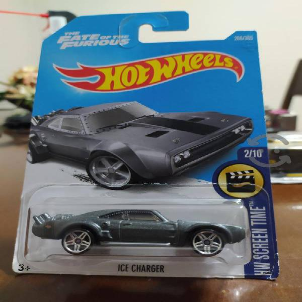 hot wheels ice charger fast & furious screen time