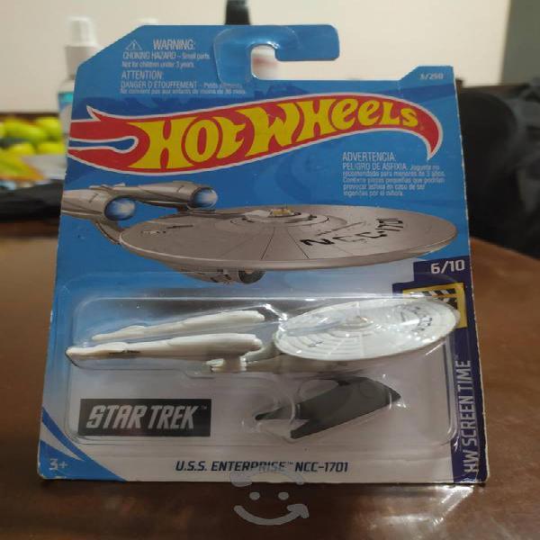 hot wheels uss enterprise ncc-1701 star trek nuevo