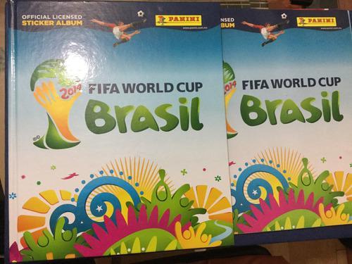 lbum Completo Y Estampas Panini Fifa World Cup Brasil 2014