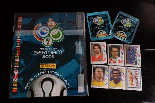 lbum Panini Alemania 2006 Completo A Pegar +