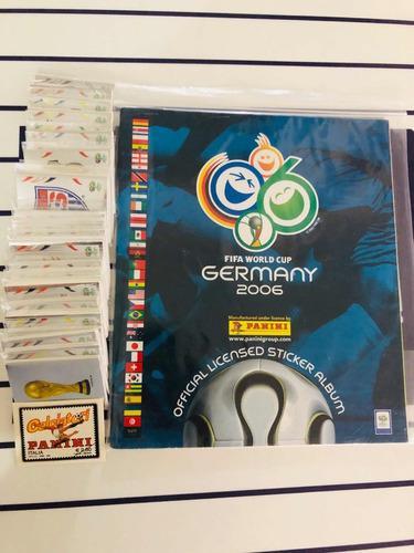 lbum Panini Alemania 2006 Set Con Estampas A Pegar