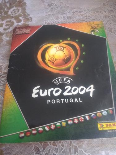 lbum Panini Eurocopa 2004