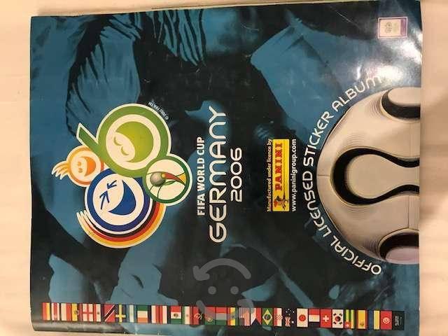 lbum Panini Mundial Alemania 2006 (Lleno)