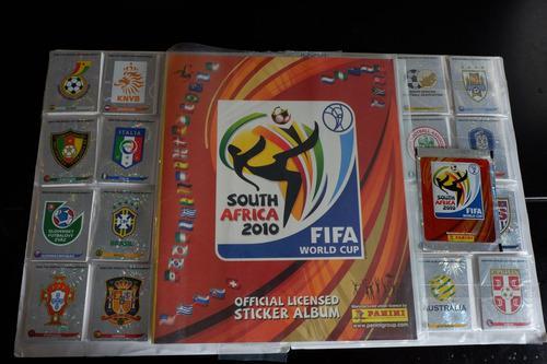 lbum Panini Mundial Sudáfrica 2010 + Set A Pegar
