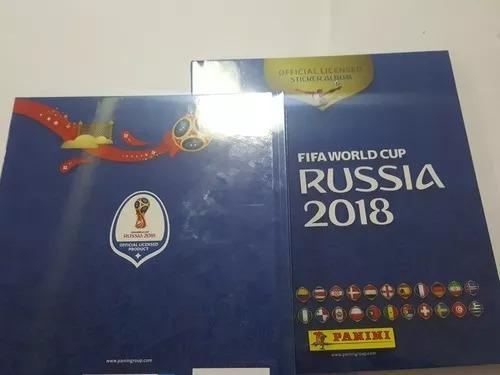 lbum Pasta Dura Orig Oficial Panini Mundial Rusia 2018