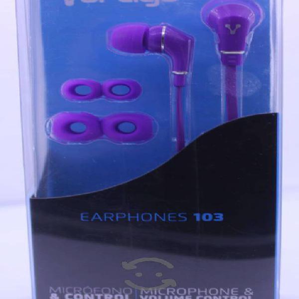 Audifonos Manos Libres Vorago Earphones 103