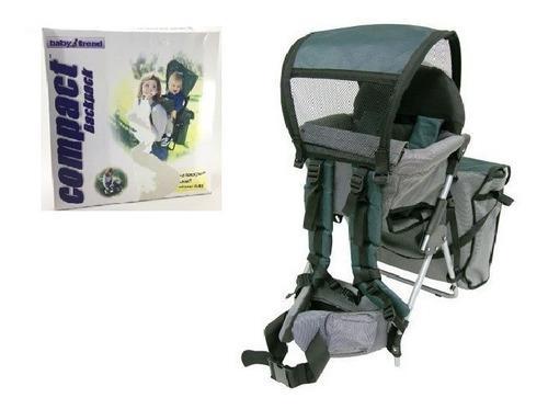 Canguro Mochila Bag Pack Para Bebe Baby Trend Full