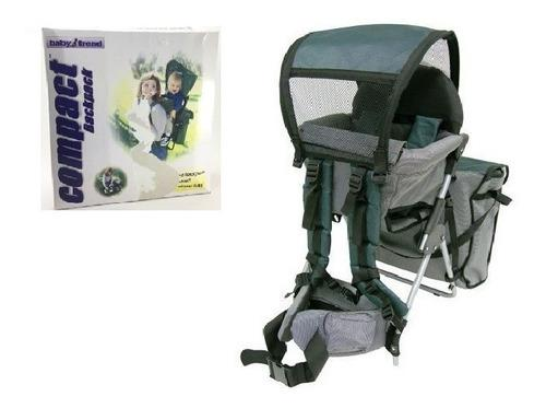 Canguro Mochila Bag Pack Para Bebe Baby Trend Msi