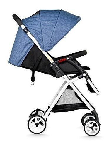 Carreola Carriola Ligera Plegable Infantil Azul