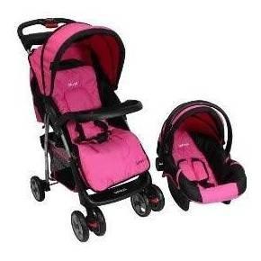 Carreola Infantil Rosa