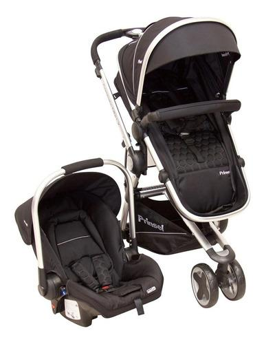Carriola De Bebe Prinsel Compass Elite Lx Portabebe Base Ngr