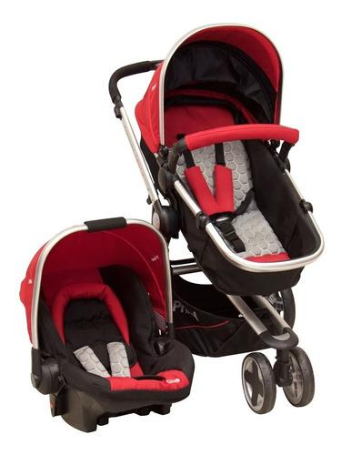 Carriola De Bebe Prinsel Compass Elite Lx Portabebe Base Rjo