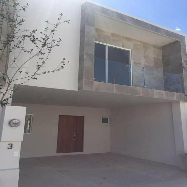Casa en renta Vina Real Aguascalientes NORTE