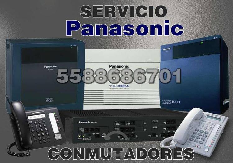 Conmutadores Panasonic Mantenimiento e Instalación