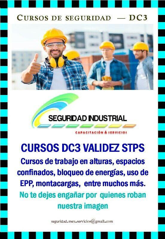 DC3 CURSOS DE SEGURIDAD INDUSTRIAL DC3 AGENTE CAPACITADOR