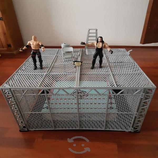 Figuras WWE Hell in a Cell armagedon Jakks Pacific