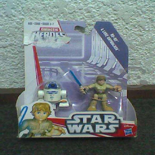 Heroes Galactic, StarWars, Luke Skywalker, R2-D2