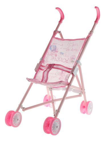 Mini Carro De Empuje Silla De Paseo Para Muñeca Bebé