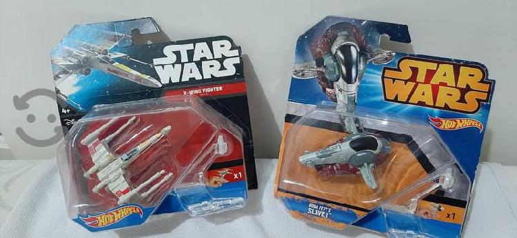 Naves STAR WARS HOT WHEELS NUEVAS