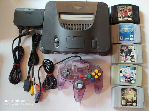 Nintendo 64 Con 5 Juegos Killer Instinct Gold