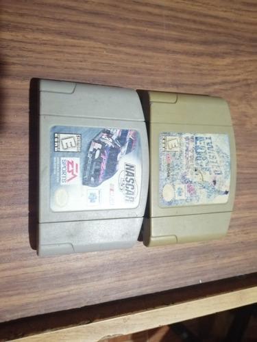 Nintendo 64, En Buenas Condiciones, Con 1 Control Y 2juegos