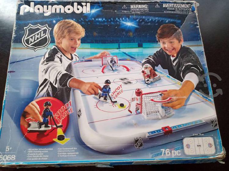 Playmobil cancha de hockey en buenas condiciones