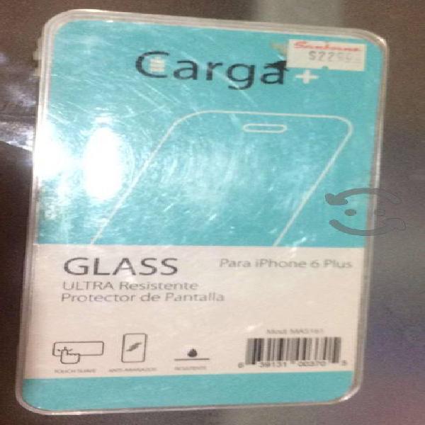 Protector De Pantalla de vidrio iPhone 6 Plus