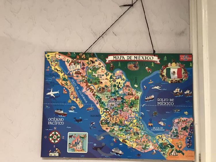 Rompecabezas de mapa de Mexico