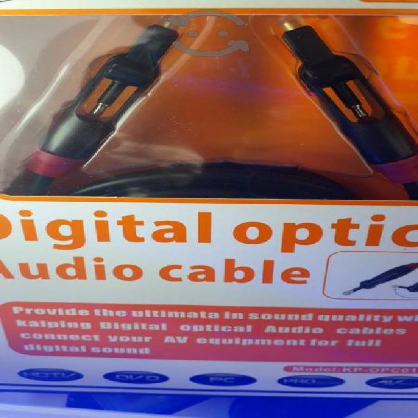 cable fibra optica de audio para pantallas