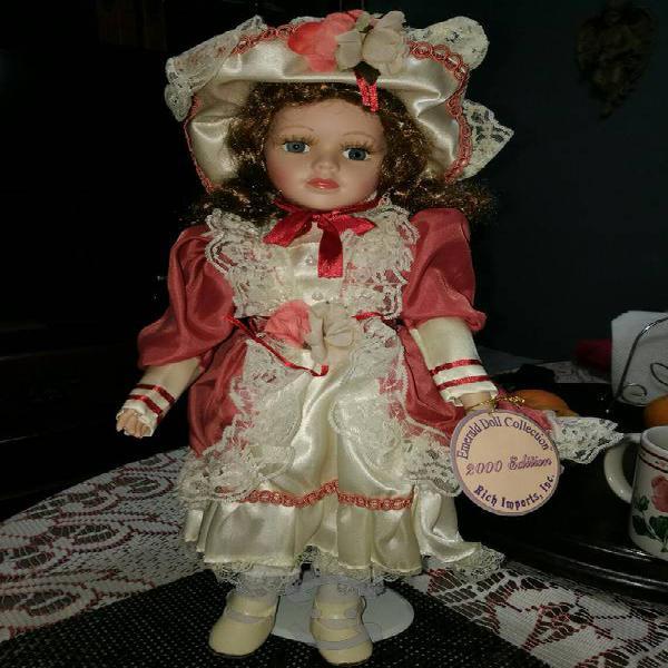 muñecas antiguas de porcelana coleccionables
