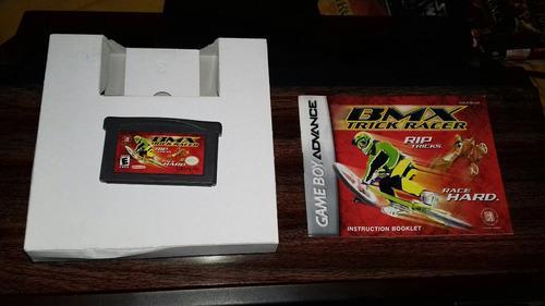 Bmx Trick Racer De Game Boy Advance Con Cja E Instructivo.