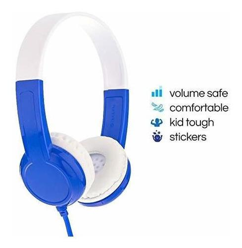 Buddyphones Discover - Auriculares De Diadema Para Niños No