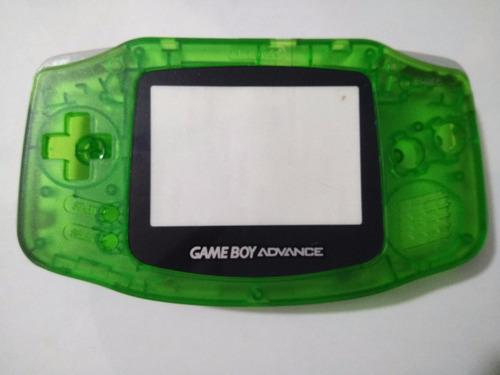 Carcasa Transparente Verde De Game Boy Advance