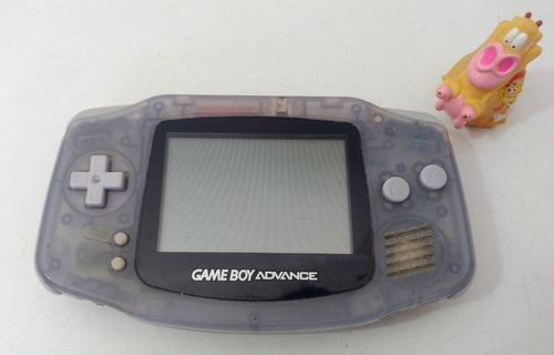 Consola Game Boy Advance Glacier * Mundo Abierto Vg *