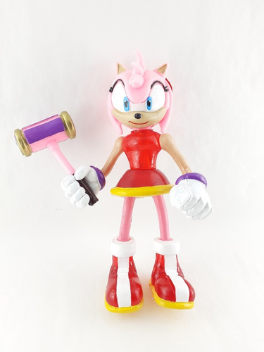 Figura Juguete Sonic Boom Personaje Amy Rose The Hedgehog